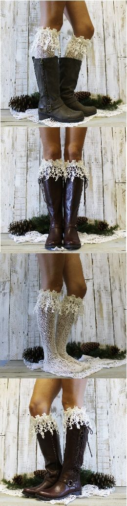 WOW! Need these lace socks for my boots. see more styles by Catherine Cole Studio free shipping PIN<3 LIKE<3 FOLLOW