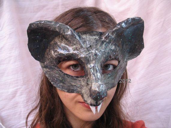 Rat Mask Costume by FairytaleStore on Etsy, $38.00