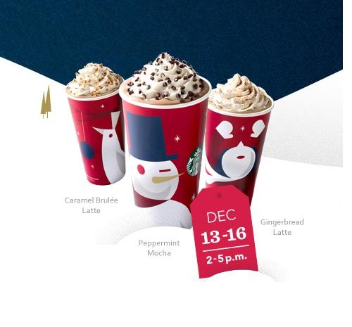 Buy Dealz ::BOGO FREE Holiday Beverage at Farm Fresh Starbucks