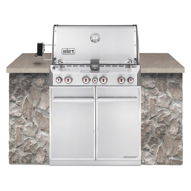 Weber Summit S-460 Built In Gas Grill - Propane | from hayneedle.com