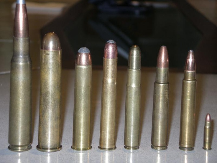 .50 BMG, .700 Nitro Express, .577 Nitro Express, .470 Nitro Express, .460 G, .416 Rigby, .375 Holland  Holland Ackley Improved and 5mm Remington Rimfire Magnum.