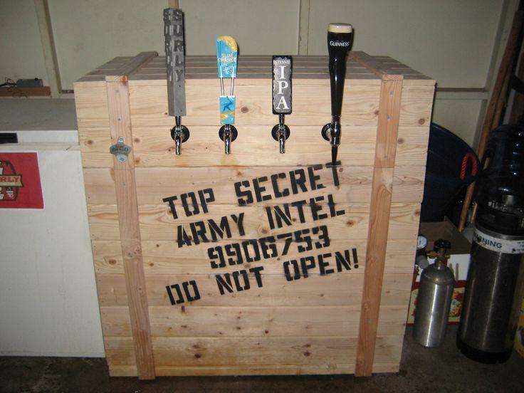 Great Home Bar Idea.