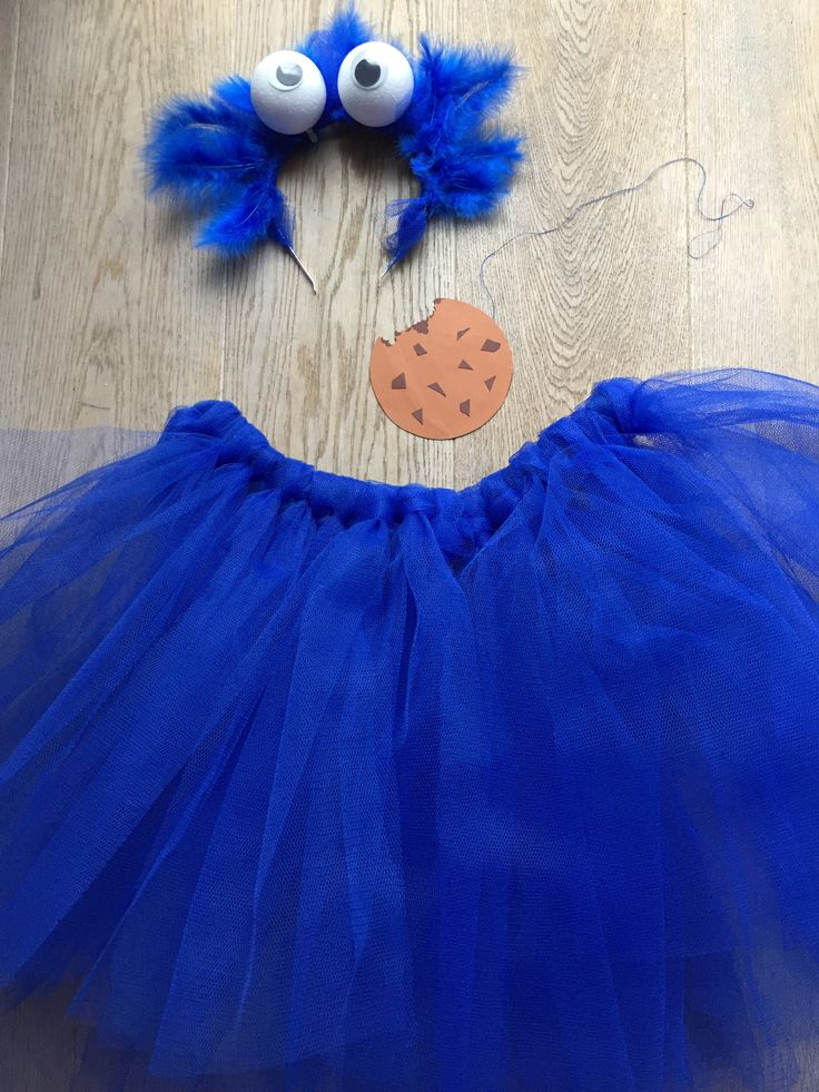 Cookie monster kostuum carnaval