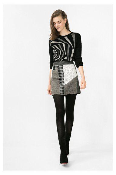 Faldas de mujer Desigual. ¡Descubre la colección otoño-invierno 2016!