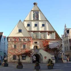 Altes Rathaus, Weiden in der Oberpfalz, Deutschland
