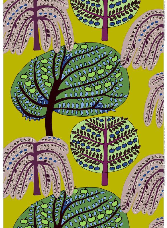 Sadonkorjuu, Design Teresa Moorhouse for Marimekko