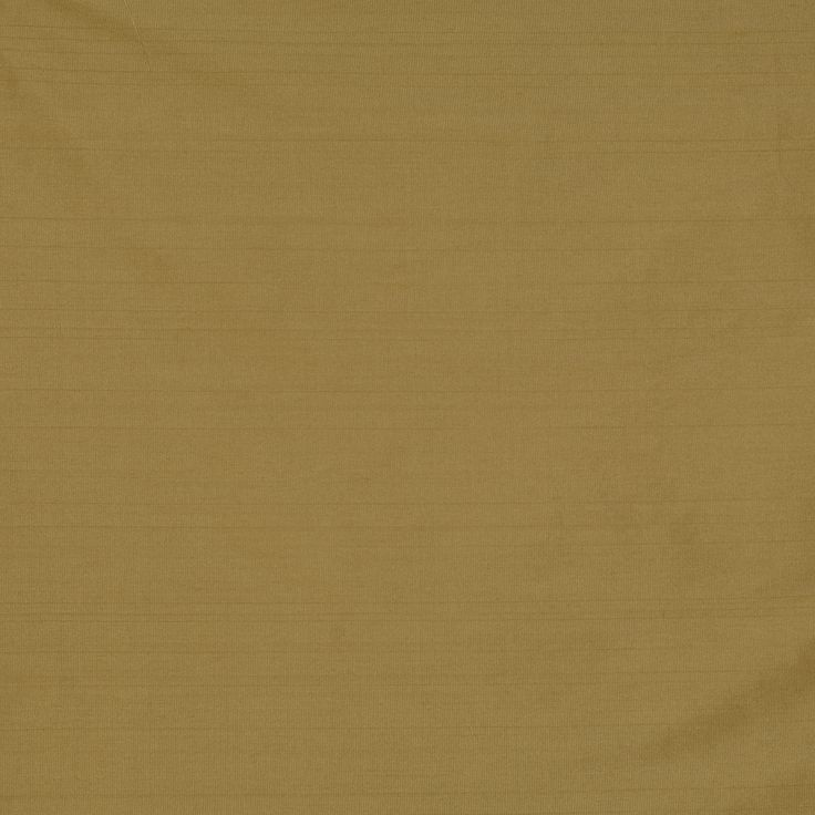 Faux Silk Fabric in Dull Gold