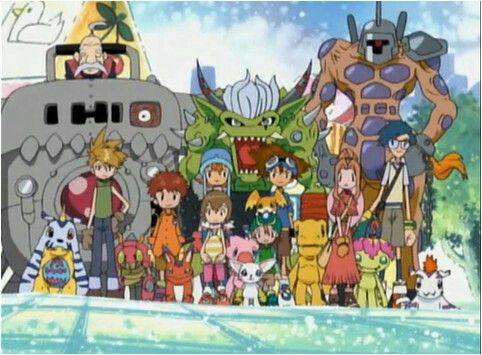 Digimon season 1. The best!!