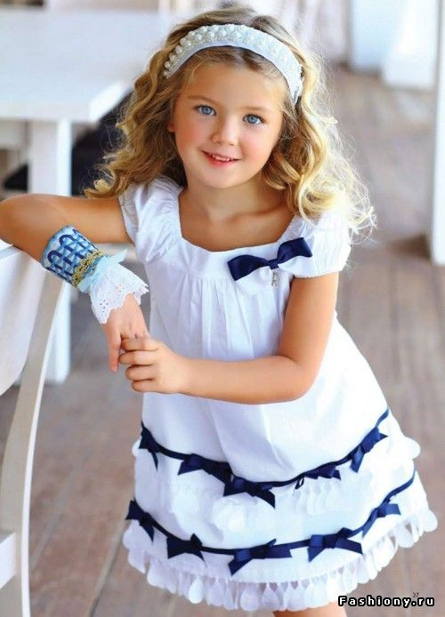 Греческий бренд детской одежды 'Mini Raxevsky' (весна-лето 2013) / мода весна-лето 2013 детская мода