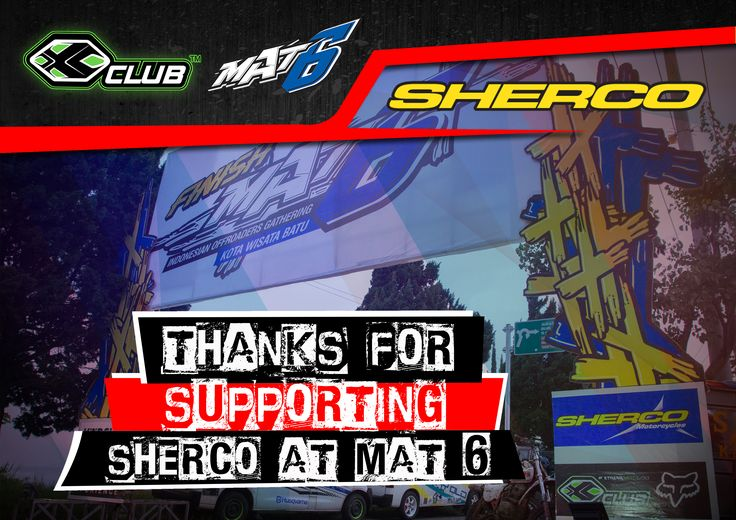 Thanks for supporting  #xtremerated #xclub #sherco #mat6 #mat6event
