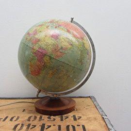 Old Globe - wereld bol