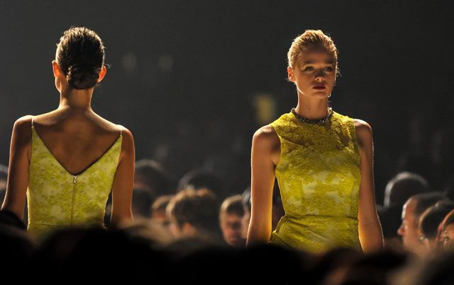 Win with Ziera! Win a trip for 2 to the Virgin Australia Melbourne Fashion Festival 2015, find out how to enter here http://zierashoes.com/page/Melbourne    Pictured: Alex Perry's designs on the runway at the 2014 Melbourne Fashion Festival.   #Win #VAMFF #ZieraShoes