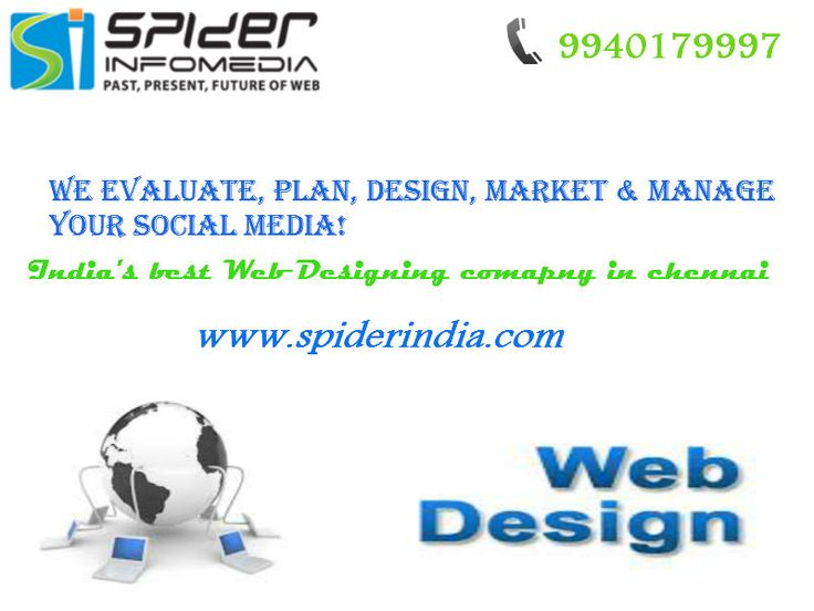 The very first thing to be implemented even before the commencement of the company or business is to promote the introduction of it in the market and the process should become vigorous after the venture. http://www.spiderindia.com/web-design-chennai.html