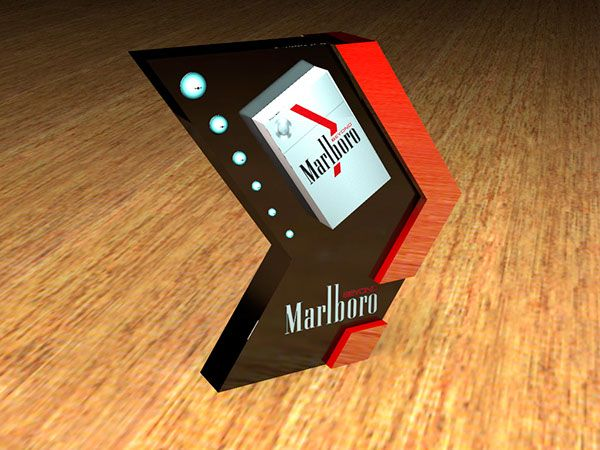 Sketches made for Marlboro