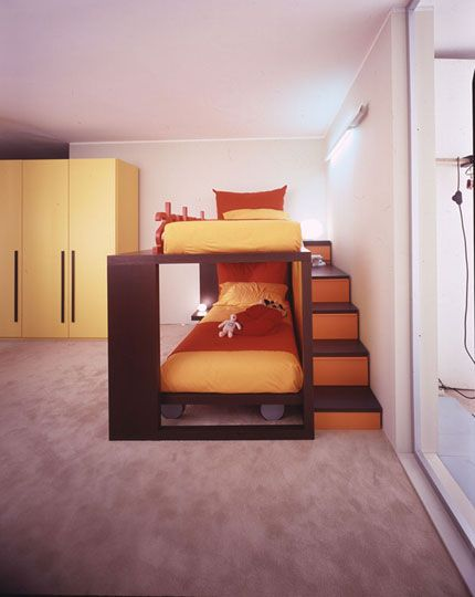 M s de 25 ideas fant sticas sobre camas altas en pinterest - Escaleras para camas altas ...