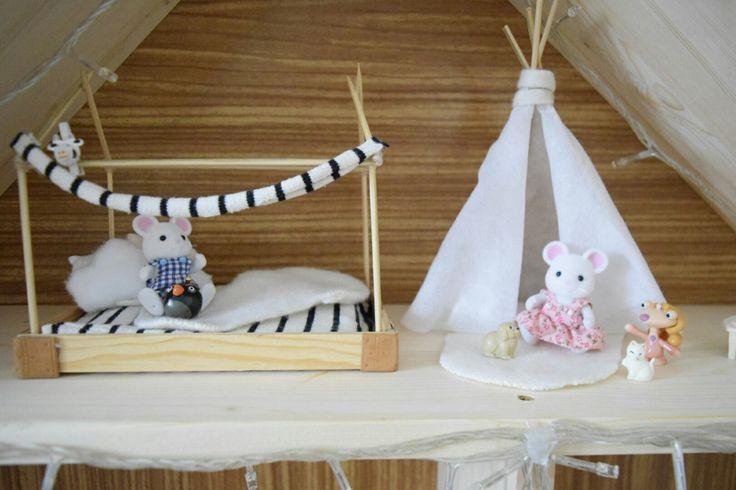 #sylvanian #diy #dollhouse #miniatures #sylvanianfamilies #mousehouse #kidsroom #room #kids