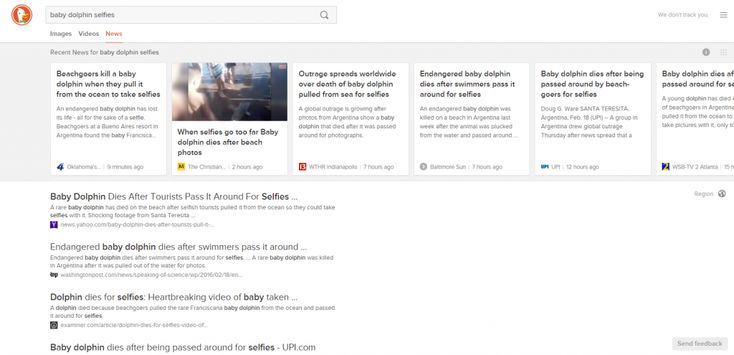 Going over to the duck side: a week using DuckDuckGo   Search Engine Watch