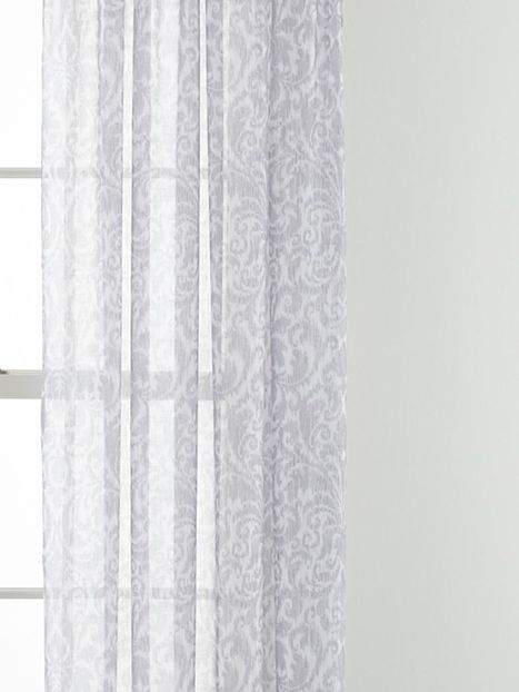 Curtains Ideas sheers and curtains : Royal Velvet® Balmoral Rod-Pocket Sheer Curtain Panel - JCPenney