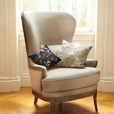 Portsmouth Upholstered Chair In 8402 Natural