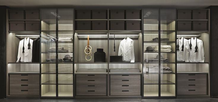 poliform glass wardrobe 1
