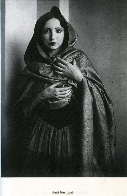 Our culture made a virtue of living only as extroverts. We discouraged the inner journey, the quest for a center. So we lost our center and have to find again. - Anaïs Nin. Photo Anaïs Nin by Brassai,1932