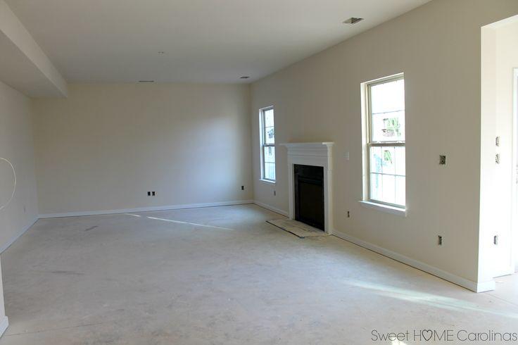 sherwin williams dover white ryan homes living room