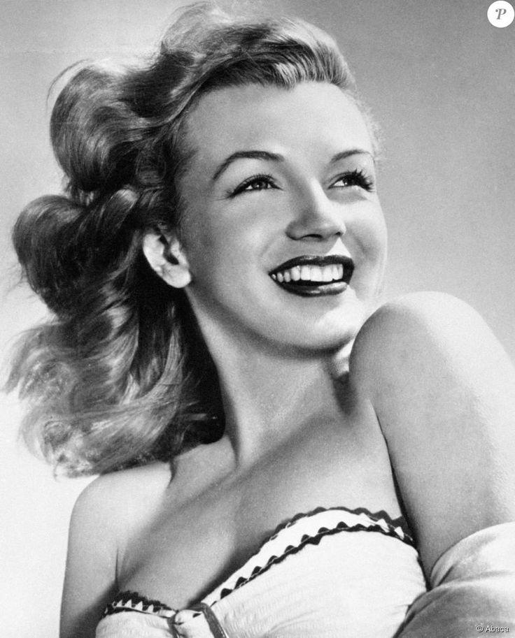 Marilyn Monroe, portrait de 1951.