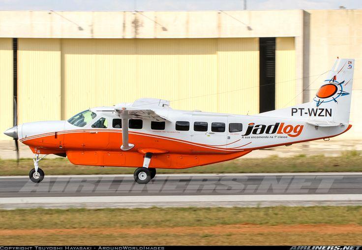 JadLog / Two Taxi Aereo Cessna 208B Grand Caravan  Jundiai (- Comandante Rolim Adolfo Amaro) (SBJD) Brazil, May 15, 2013