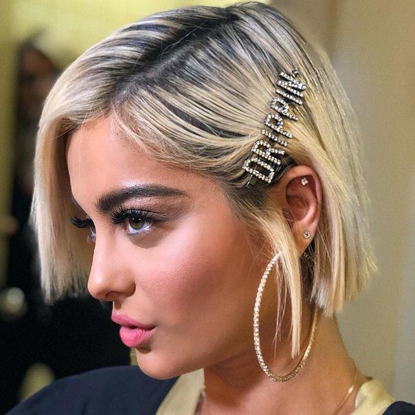 Details about  /Jewelry Rhinestone Women Bobby Pins Headwear Letter Hairpins Words Barrette