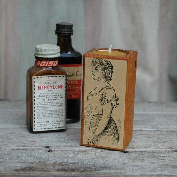 Medical Curiosity 1800s  Antique Old Growth Pine by PegandAwl, $18.00
