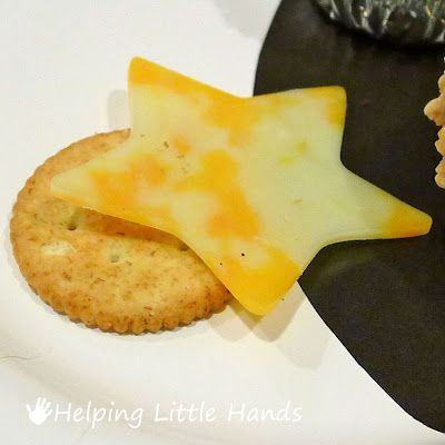 Helping Little Hands: Space Party Snack Ideas