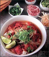 Hanoiská voňavá polévka