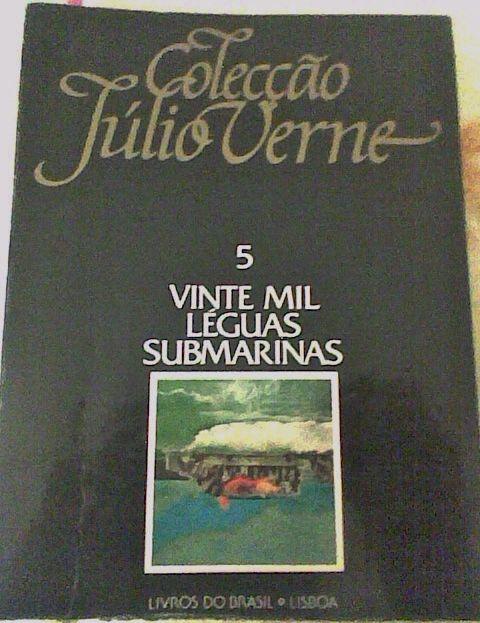 Vinte mil léguas submarinas, Júlio Verne.