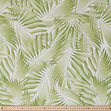 Tropica Printed Sun Out Fabric Fern 150 cm