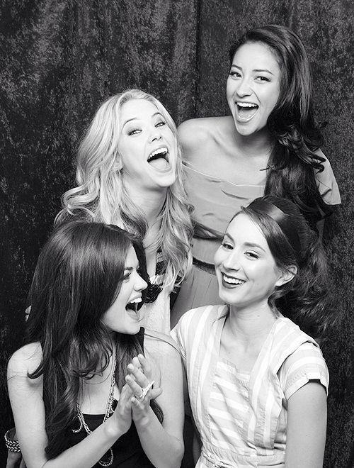 Os sorrisos delas me encanta