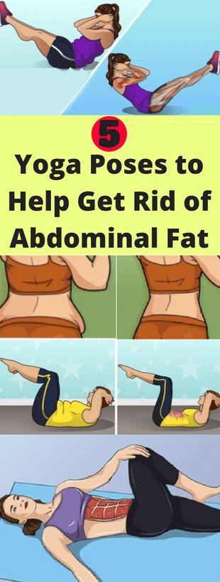 5 Yoga Poses to Help Get Rid of Abdominal Fat - seeking habit