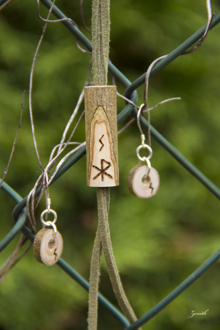 I've made this happiness and friendship talisman for Iva, my best friend, as a thank you for always being there for me. As you probably noticed, I used the elder futhark alphabet and runebinded: Ge...