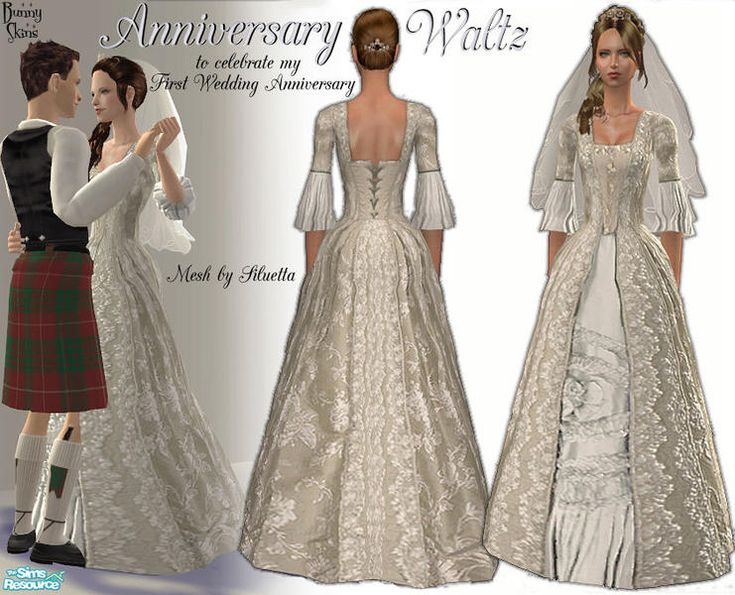 151 best sims 2 wedding historical vintage and themed for 18th century wedding dress