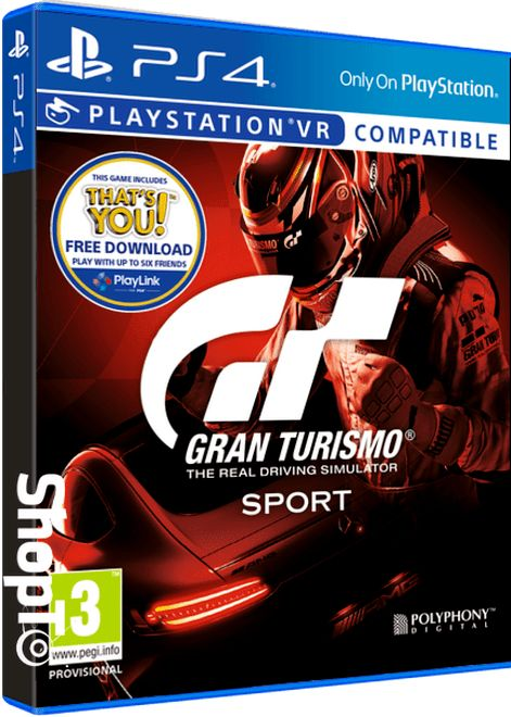 Gran Turismo Sport at it's lowest #BlackFriday Price that We can find at the moment...