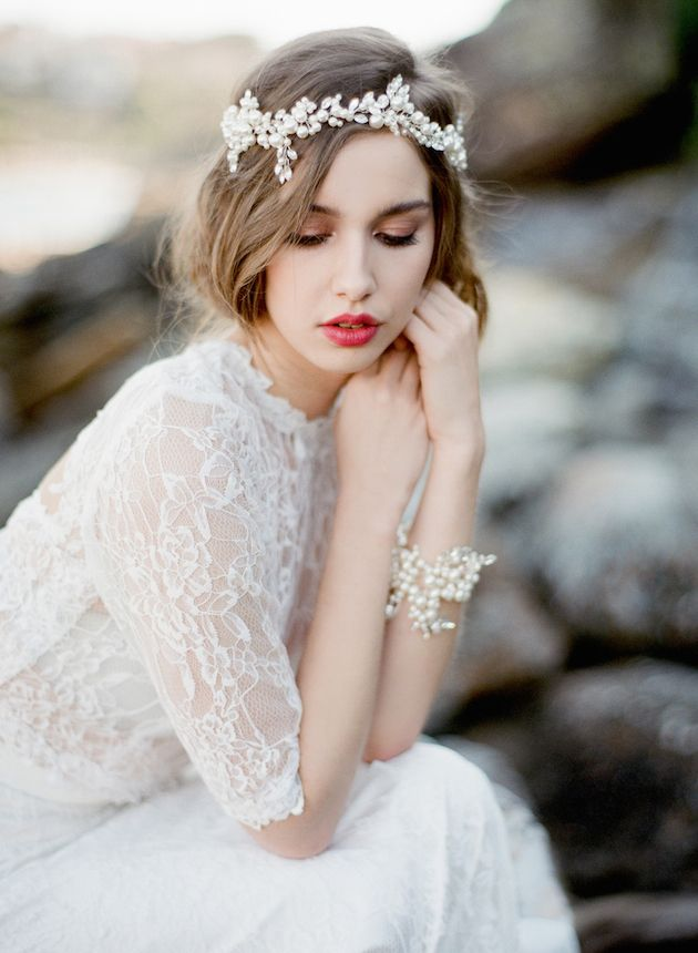 perfect pearls for the modern bride
