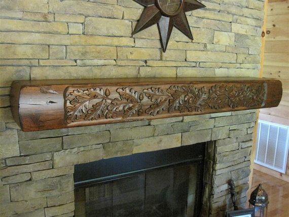 1000 idées sur le thème Rustic Fireplace Mantels sur Pinterest ...
