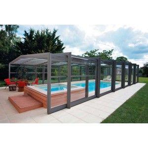Disfruta de tu #piscina todo el año con esta #cubierta alta adosada ¡Presupuesto personalizado!