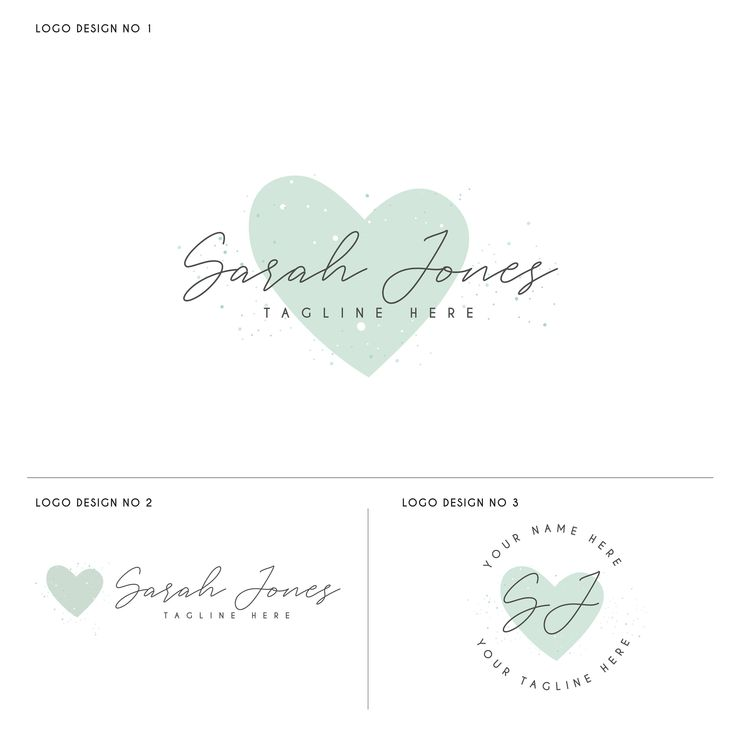 Heart Logo Design, Beauty Logo, Love Logo, Wedding Logo, Makeup Logo, Photography Logo, Modern Logo Design