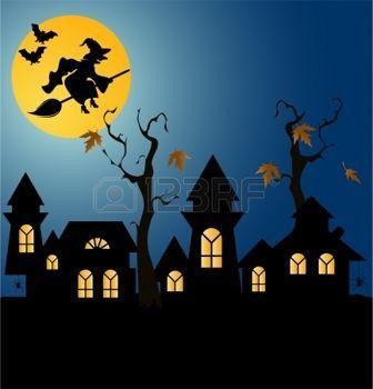 Halloween de fondo photo