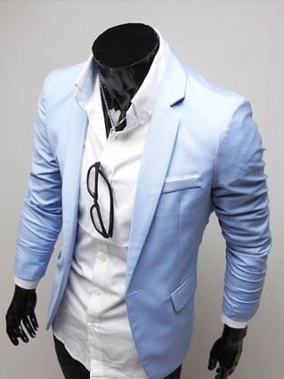 Basic One Button Blazer