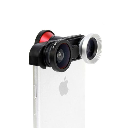 4-in-1 Camera Lens - iPhone 6 / 6 Plus. From www.iToys.co.za