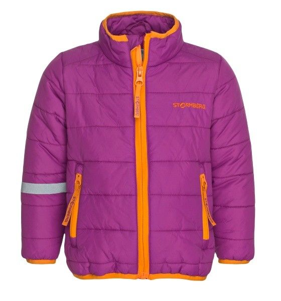 Strimdal insulated jacket for children is a durable and warm jacket perfect for active children on chilly days.