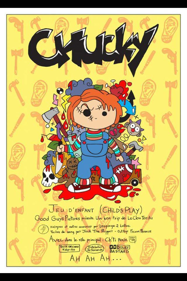 Nouvelle illustration d'horreur : CHUCKY  En collaboration avec cinemaclubFR.fr x LeClouTordu