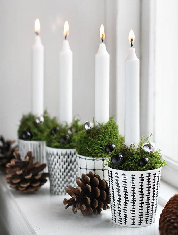 Os traços minimalistas, rústicos e orgânicos do design escandinavo aparecem nestas 16 decorações de Natal inspiradas na região nórdica.
