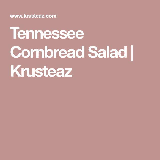 Tennessee Cornbread Salad   Krusteaz